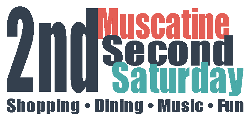 Second Saturday - Arts and Music Street Fest @ Downtown Muscatine