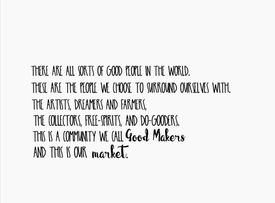 Good Makers Market @ The Barn At Bunker Hill | Wilton | Iowa | United States